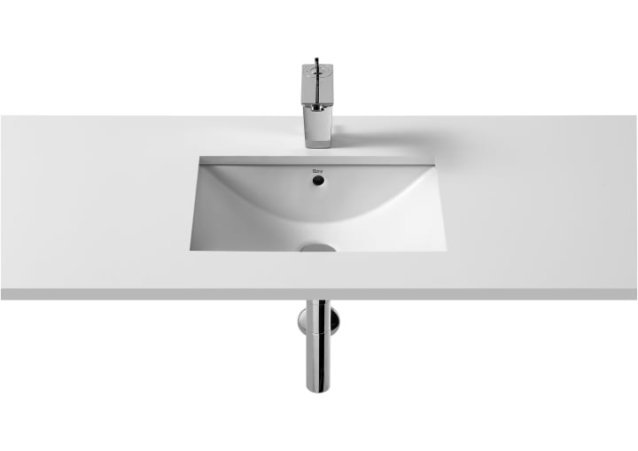 In Countertop Or Under Vitreous China Basin