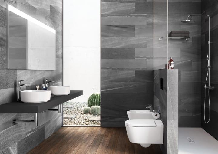 Inspira bathroom collections collections roca for Sanitarios roca malaga