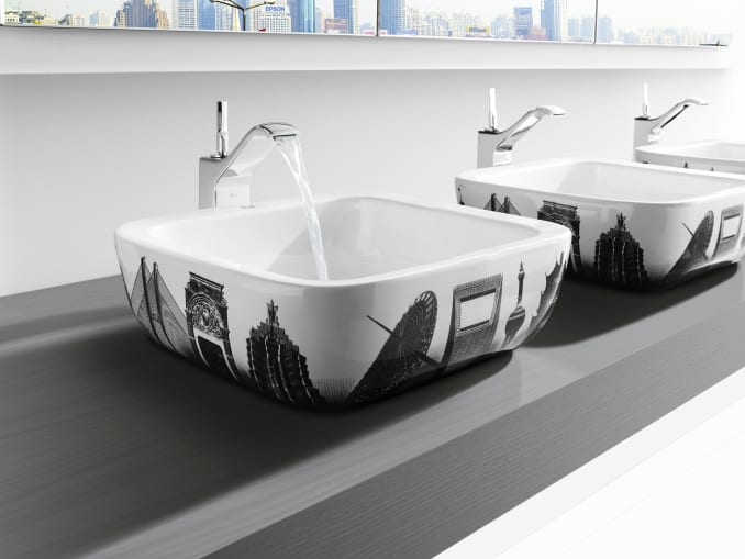 this collections wash basins and bathroom fittings turn the bathroom into a cosmopolitan and exclusive environment barcelona berlin new york shanghai - Roca Wash Basin
