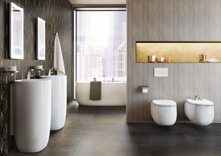 Vitreous china wall-hung Rimless WC | Wall-hung WCs | WCs | Products