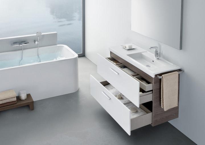 Lavabo Urbi 1 De Roca.Prisma Basin Furniture Solutions Collections Roca
