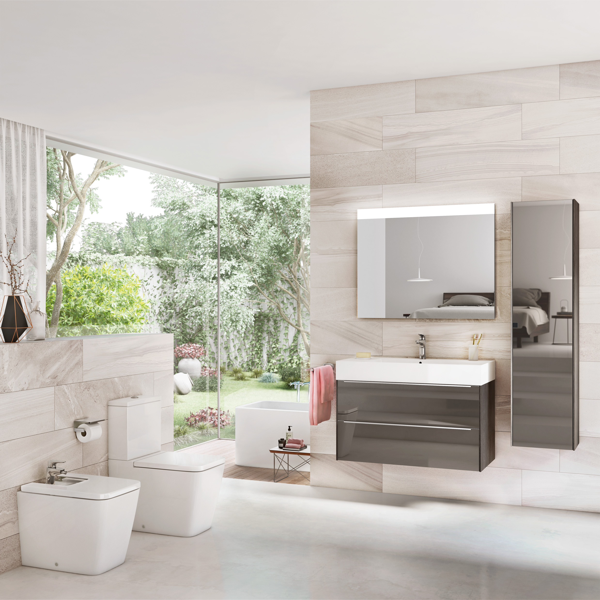 Inspira, designer bathroom & furniture collection | Roca Life