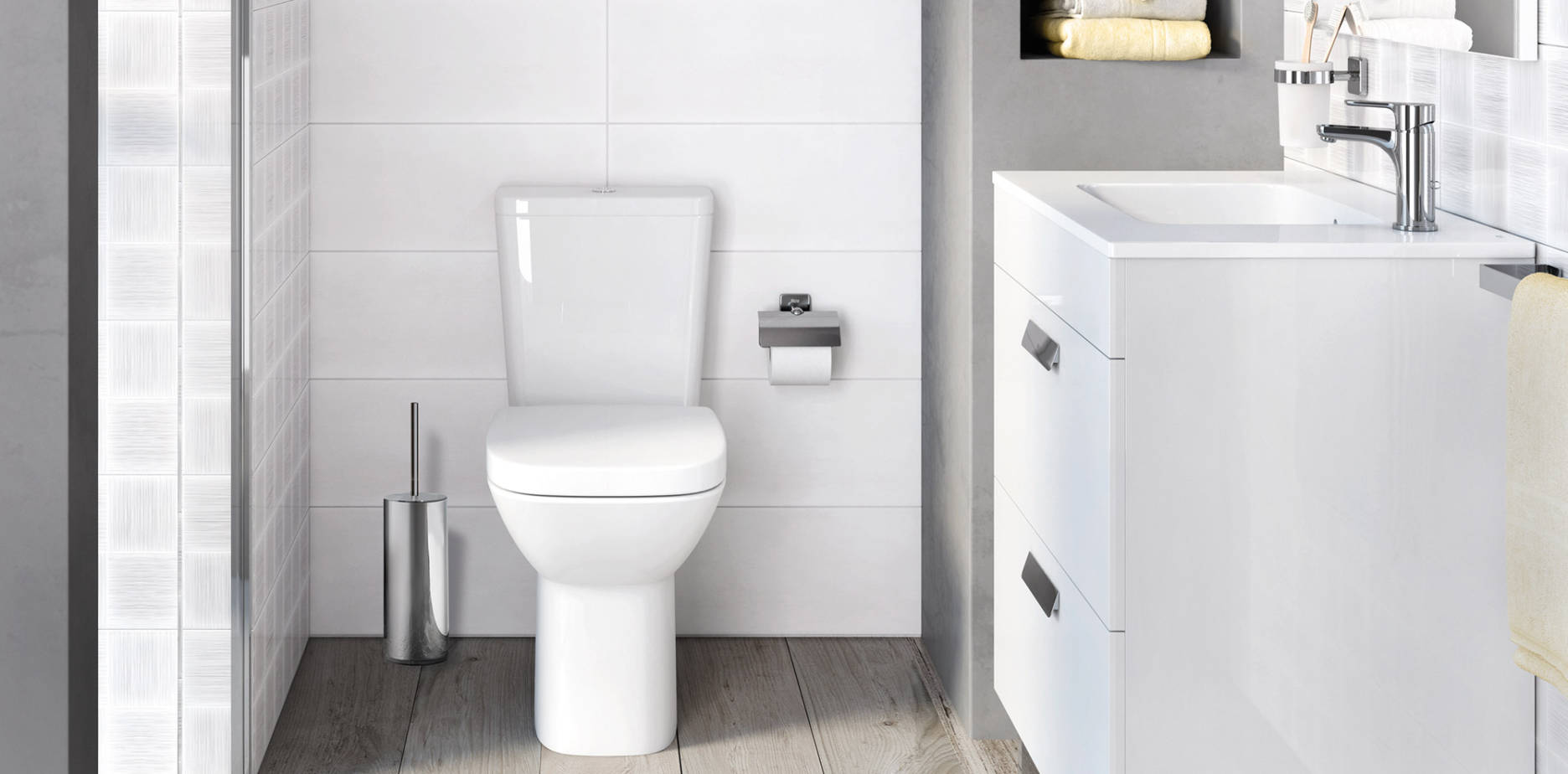 Small bathrooms  Ideas and tips on small bathrooms  Roca Life