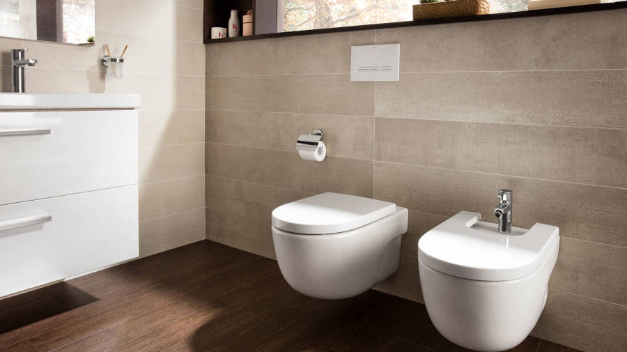 Meridian wall-hung toilet and bidet