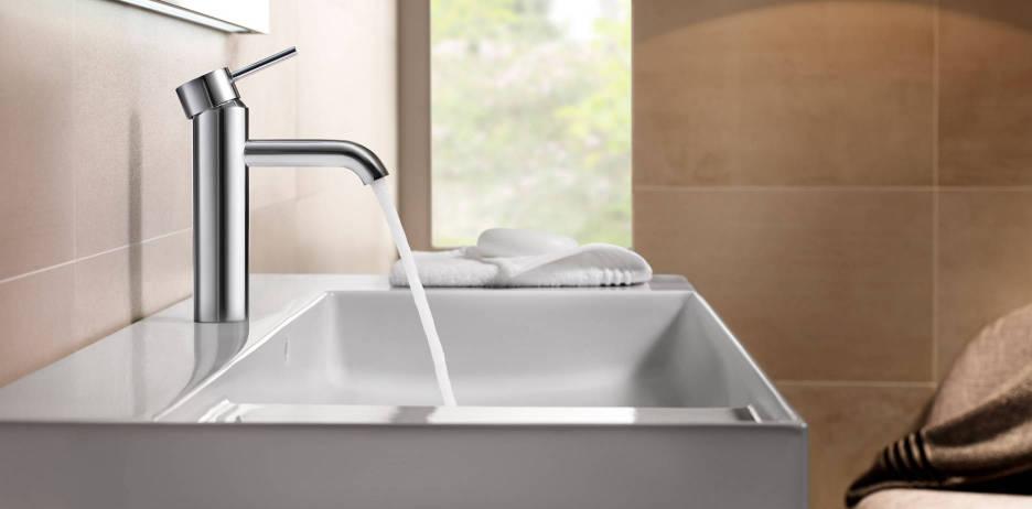Lanta faucet for basin by Roca