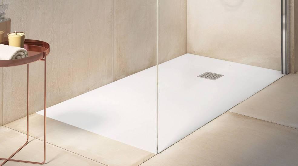 Stonex® shower tray by Roca