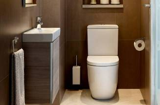 Small bathroom with Roca products