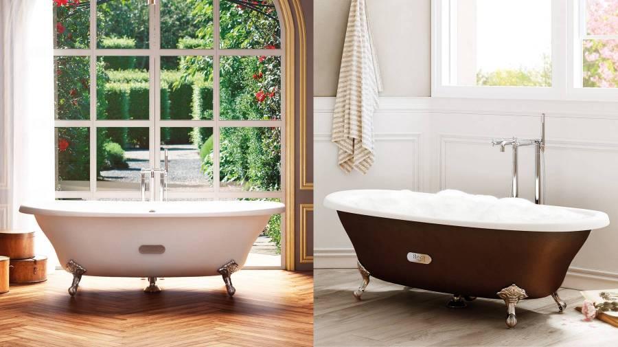 Eliptico bath by Roca