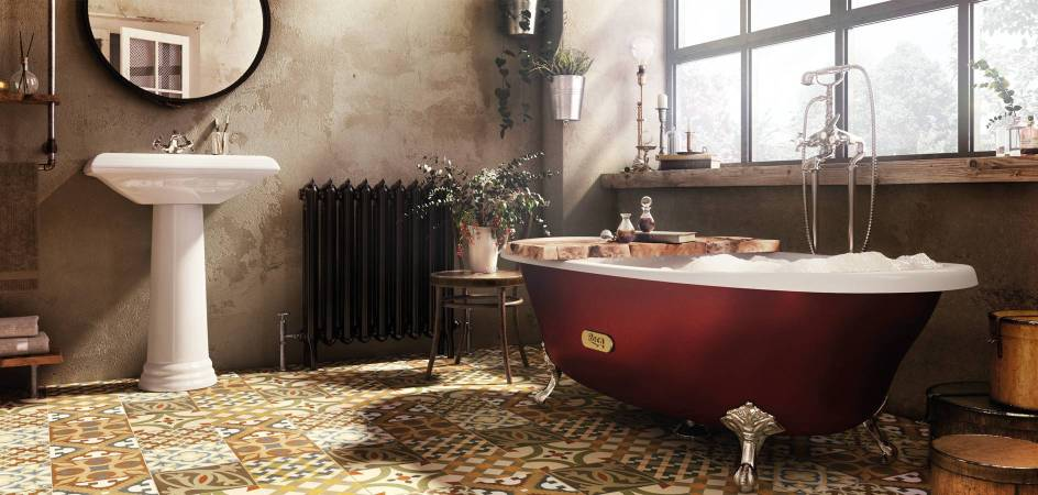 Classic bathroom with Roca products