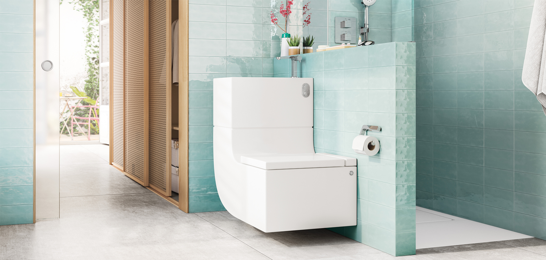 Basin and WC in one single piece? Join the W+W revolution | Roca Life