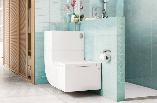 Wc With Bidet Discover Roca S Two In One Shower Toilet Roca Life