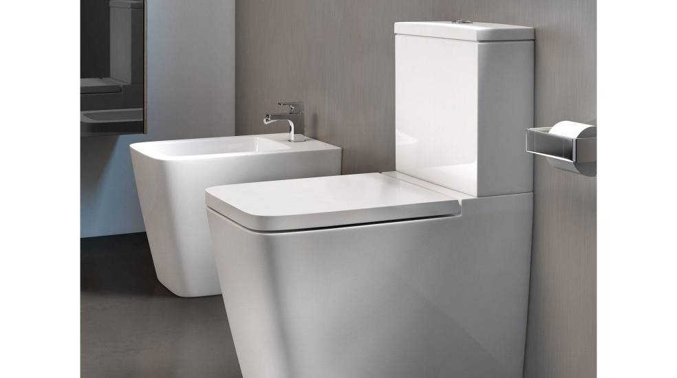 Inspira toilet and bidet by Roca