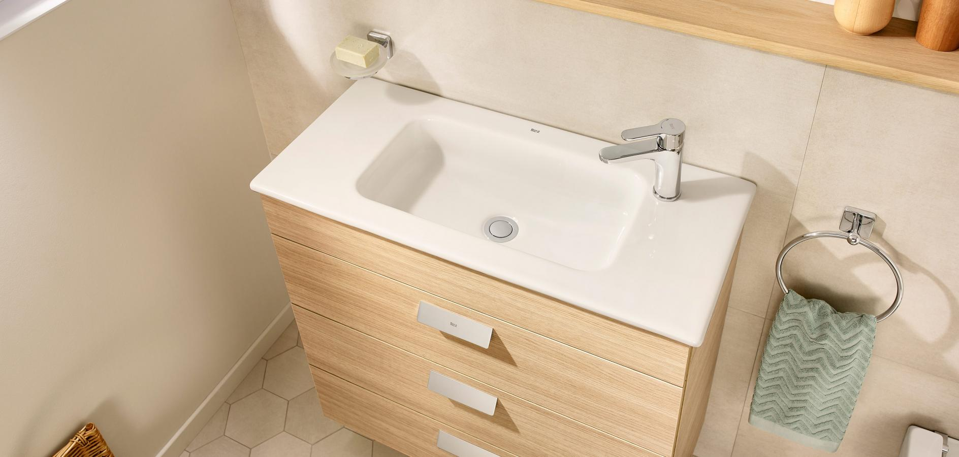 Enjoyable Compact Bathroom Units And Small Bathroom Cabinets Roca Life Interior Design Ideas Jittwwsoteloinfo