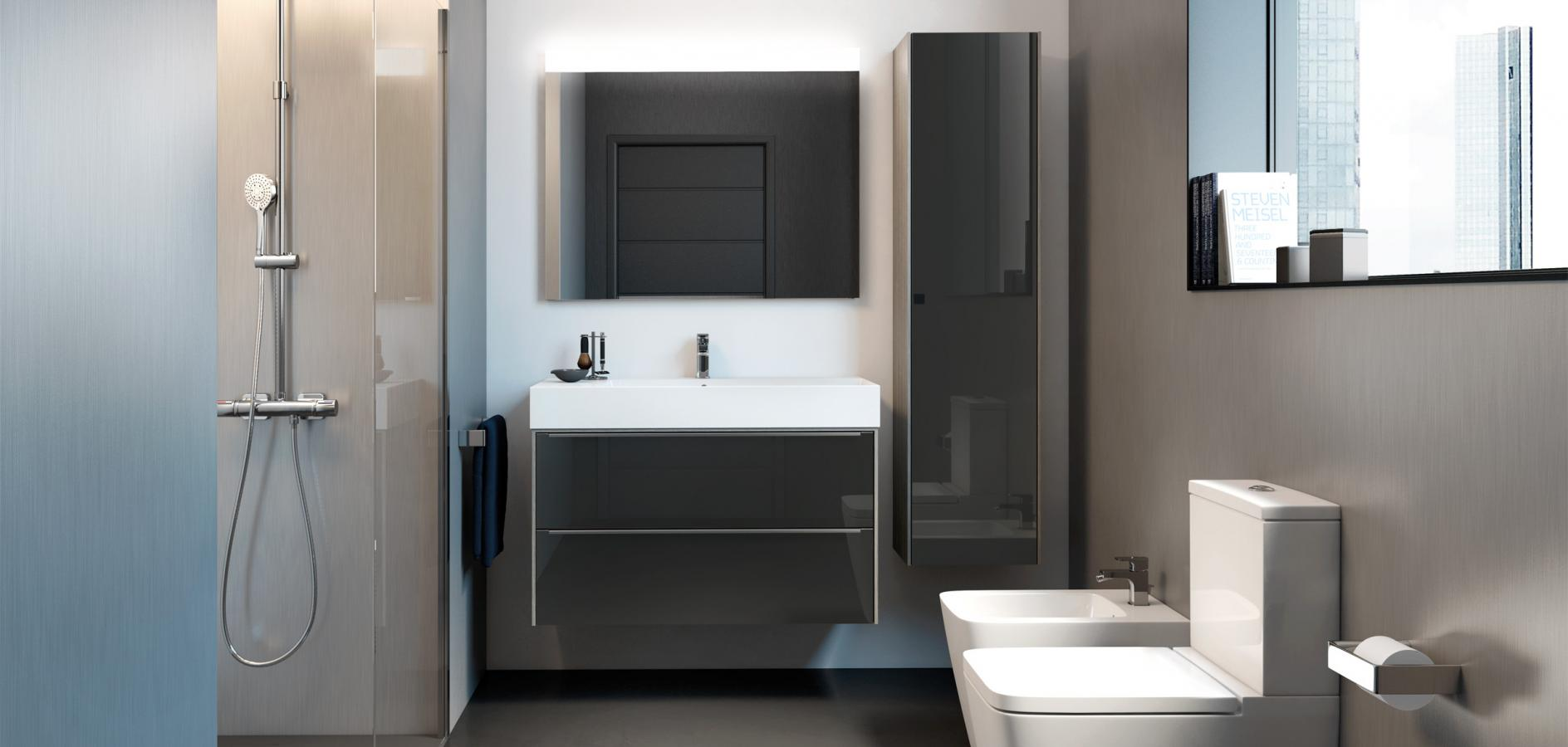 Tremendous Maximise Your Space With A Small Bathroom Cupboard Roca Life Interior Design Ideas Jittwwsoteloinfo