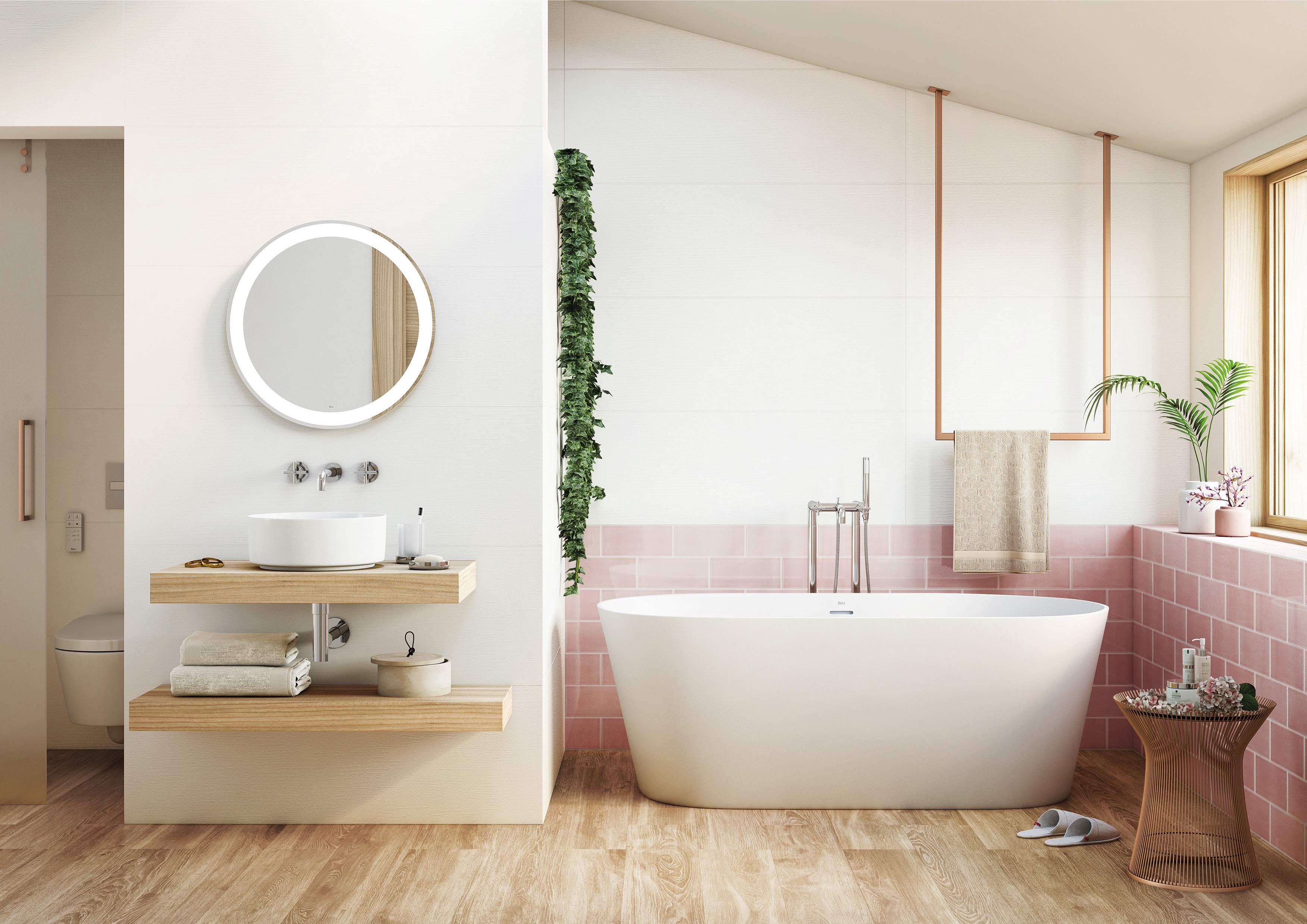 Get Your Scandi Bathroom Design Inspiration From Us Roca Life