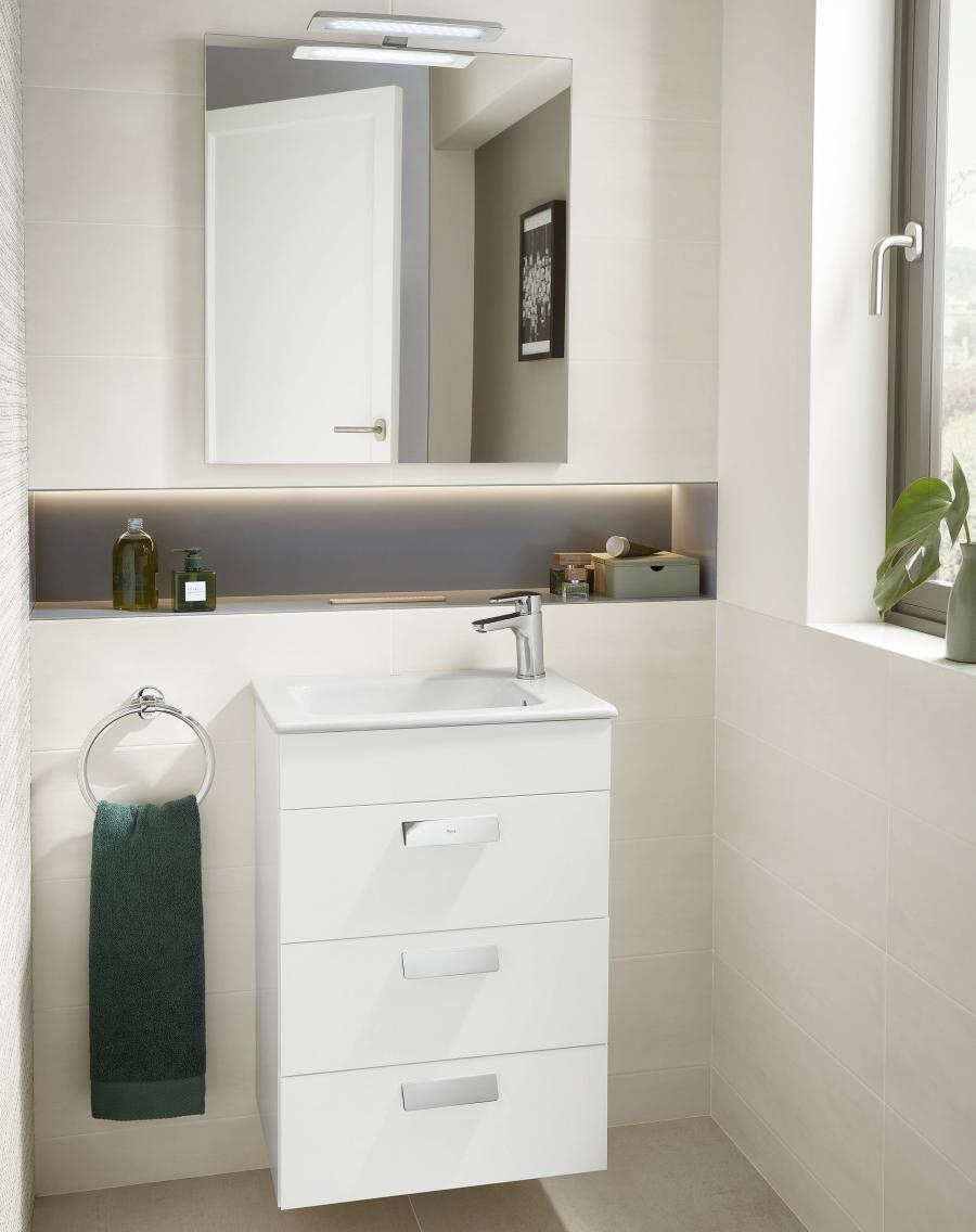 Excellent Compact Bathroom Units And Small Bathroom Cabinets Roca Life Interior Design Ideas Jittwwsoteloinfo