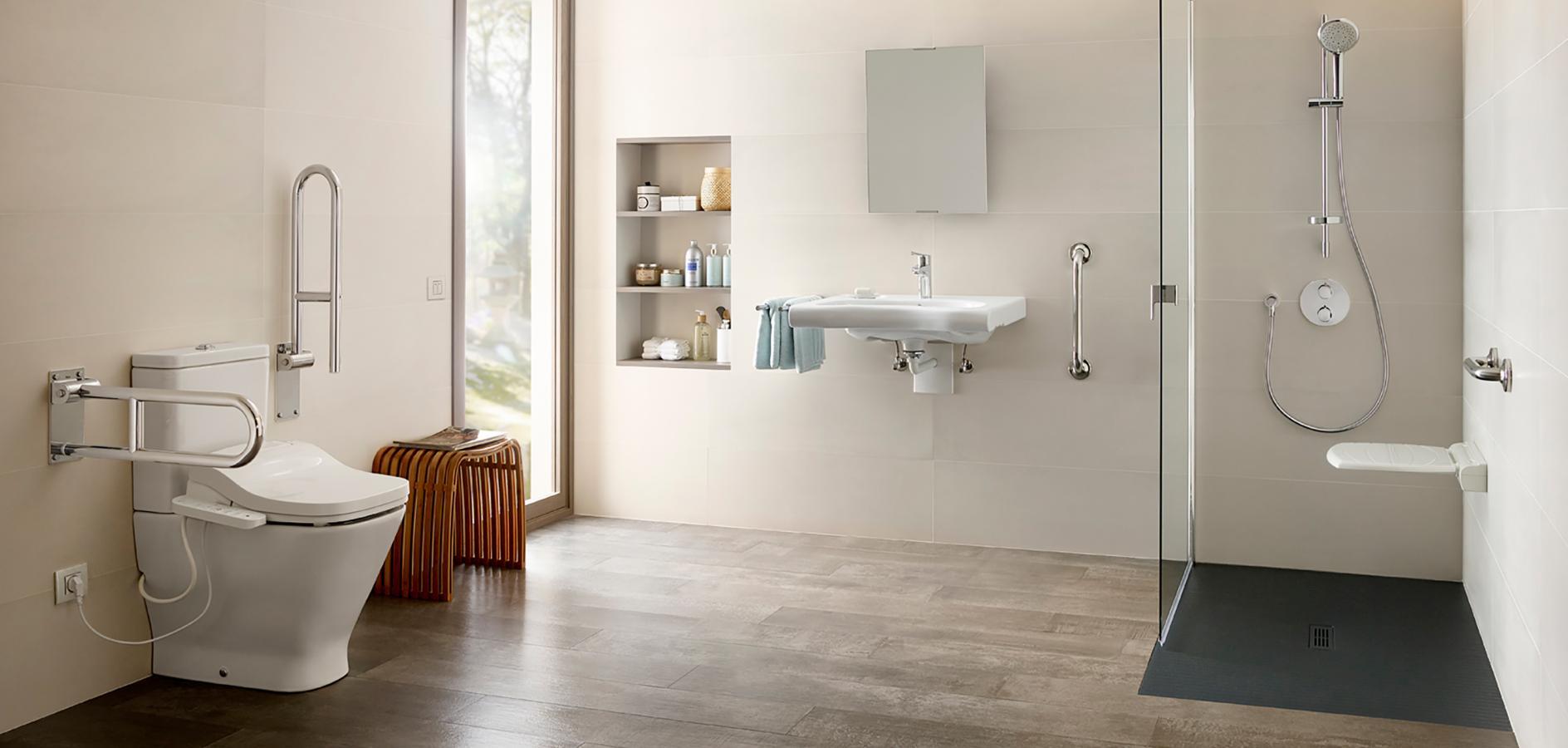 Designing Bathrooms For The Elderly, Bathroom Designs For Seniors