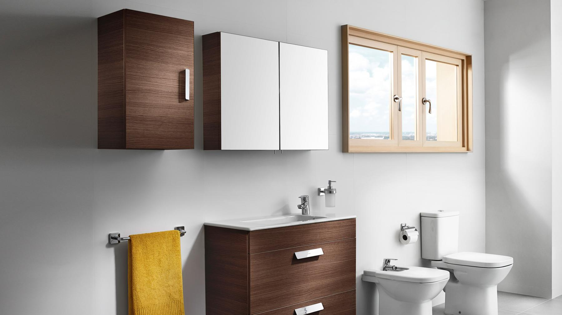 Super Maximise Your Space With A Small Bathroom Cupboard Roca Life Interior Design Ideas Lukepblogthenellocom