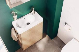 Discover our ideas for how to design a compact bathroom