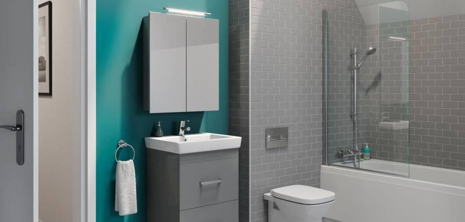 The comeback of a classic – the bathroom mirror cupboard