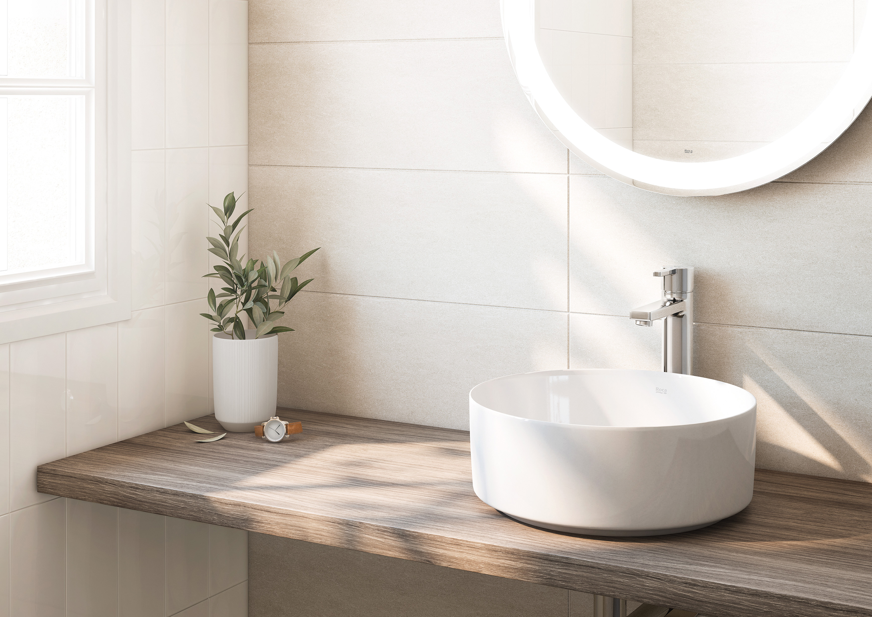 Wooden Bathroom Countertops The Perfect Shelf For A Basin Roca Life
