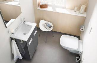 Increase your space with a small bathroom basin