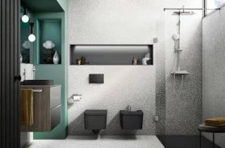 Senceramic®: anti slip shower trays in a range of colours