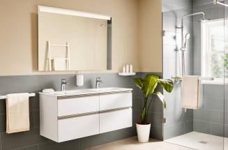 The Gap: A modern bathroom storage collection that has a lot to offer
