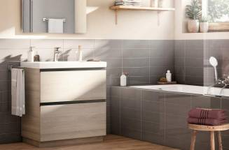 Tradition and Innovation with wooden Roca bathroom furniture | Roca