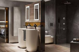 Timeless countertop and coloured basins for your bathroom renovation | ROCA