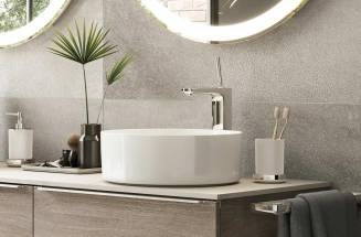 Pals, a basin tap with a vertical handle – perfect for a modern bathroom | ROCA