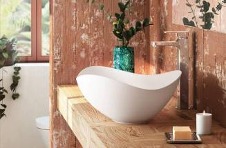 Pamper yourself with freestanding bathtubs, smart showers and more