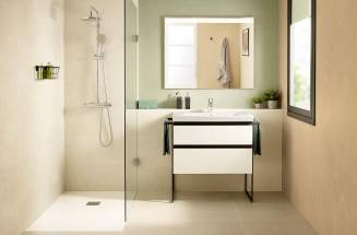 Domi, a vanity unit perfect for bathrooms big or small