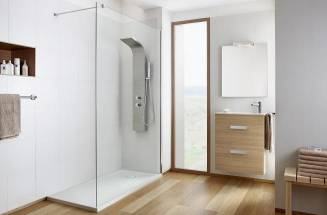Thermostatic shower columns for a wellness-focused bathroom experience | Roca
