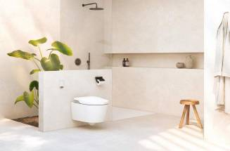 IN-WASH® WITH IN-TANK®, a cisternless toilet for the smart bathroom