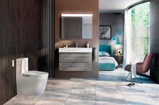 Calming and sophisticated, grey bathroom ideas